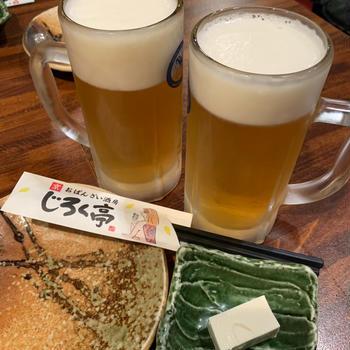 パフェとビールと紅葉の京都⑧京都のおばんざいと京都餃子の高辻 亮昌 本店