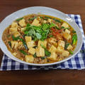香味野菜たっぷり!パクチーとニラのデトックスな麻婆豆腐