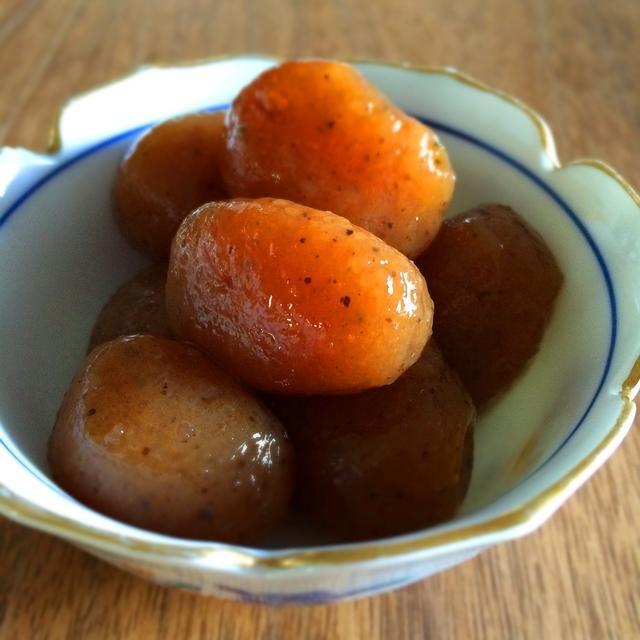 【簡単・常備菜】玉こんにゃくの煮物