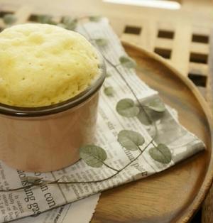 *10分でできる!北海道チーズ蒸しパン風*