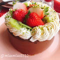 お砂糖なしチョコなしバナナココアレアチーズケーキ(動画レシピ)