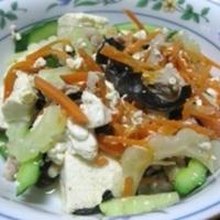 ゴーヤチャンプルと副菜