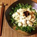 最強ご飯ですよ。海苔佃煮のマヨ辛子ささみ茗荷和え(糖質2.7g) by ねこやましゅんさん
