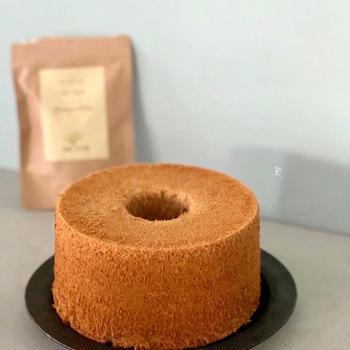 カモミールティシフォンケーキ