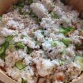 夏にぴったり☆アジの干物ときゅうりの簡単混ぜ寿司