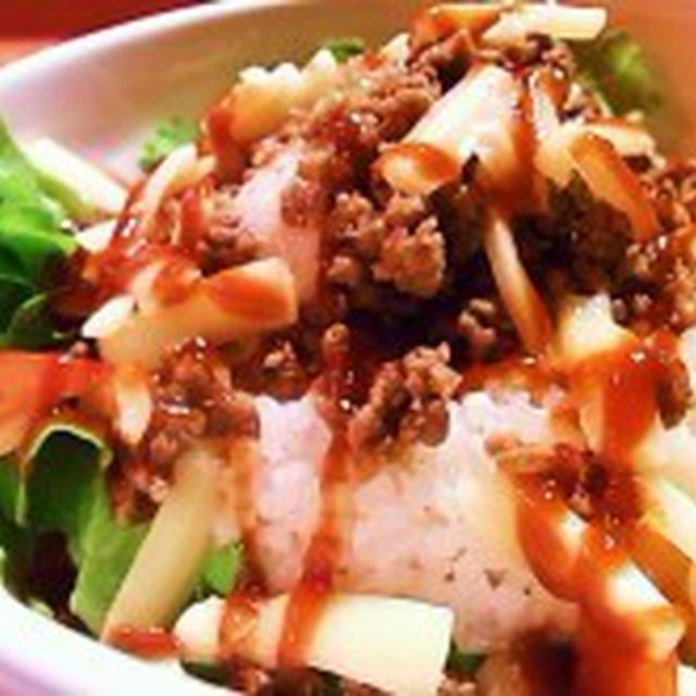 【DINNER】●とろ~り玉子のタコライス●
