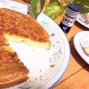 シナモン風味の焼きチーズケーキ