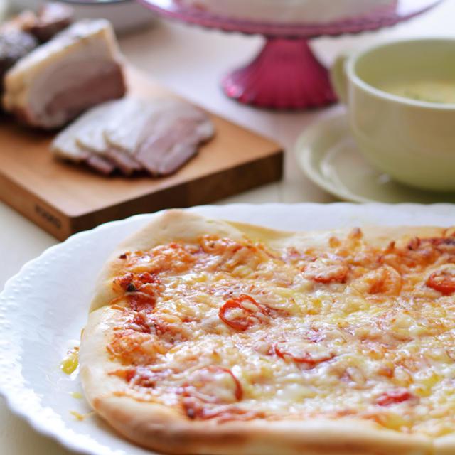手作りピザで39誕生日ごはん。と今年の目標達成☆
