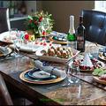 今年のテーマはスノーマン☆ クリスマスディナー