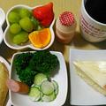 34W1d里帰り出産、妊婦の食事(4/8)、人気検索TOP10入、ほうれん草サラダレシピ有。 by Mariさん