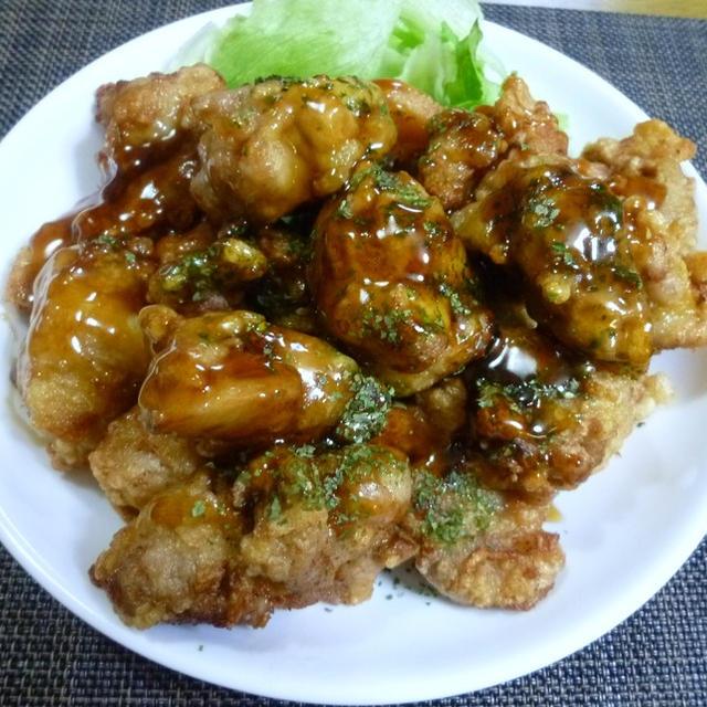 ★鶏モモ肉の甘酢あんかけ★