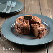 【ブラックフライデーおやつ】ビターココアのチーズケーキ