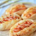 豆腐と米粉で作る明太チーズパン(米粉でお手軽パン♫)