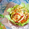 チュルチュル食べれる♪冷やし中華風★春雨サラダ by 桃咲マルクさん