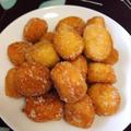 材料2つ混ぜるだけ!もちもち豆腐ドーナツ#ホットケーキミックス #HM #ホケミ