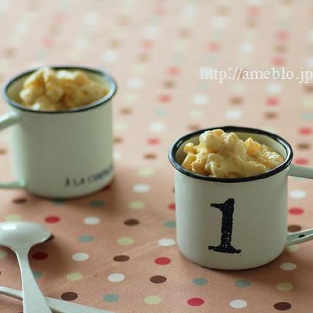 柚子塩アイスクリーム レシピブログ連載