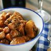 鶏肉と里芋のスパイス煮