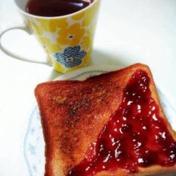 あまーい2色トーストでひらめき朝食!