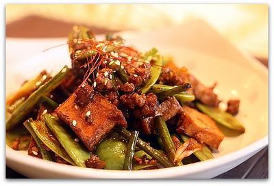 厚揚げと中華野菜の炒めもの