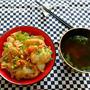 豚味噌丼 & リフォーム話23
