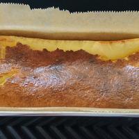 【レシピ】パウンド型でバスク風チーズケーキ