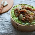 ウチの生姜焼きでお弁当