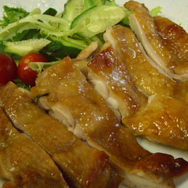 鶏の照り焼きとお赤飯