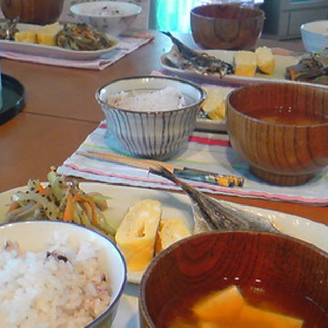 和食朝ごはん。