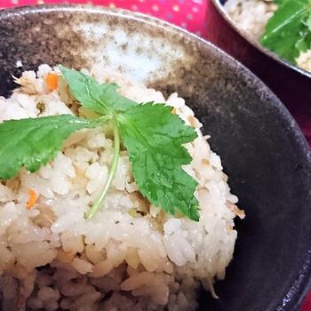 【レシピ】炊飯ジャー★簡単★炊き込み10【ツナと三葉の炊き込みご飯】