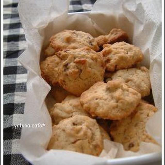 くるみのドロップクッキー