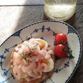 【スウェーデン料理】失敗知らずで最高に美味しい、甘エビのオープンサンド