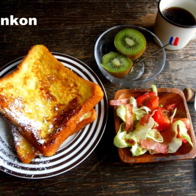 フレンチトーストの朝ごはん(連載記事を更新しました)
