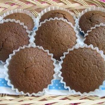 ふわふわ*cocoaカップケーキ