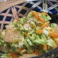 ヘルシー☆春キャベツとグレープフルーツのさっぱりサラダ