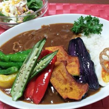 野菜カレー。