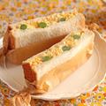 お花見やピクニック、お弁当に♪簡単・ふんわり卵とアスパラのサンドイッチ