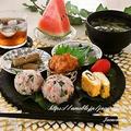 和ンプレートやお弁当の一品に♪【大葉と鮭のわさび香る☆おにぎり】 by Jacarandaさん