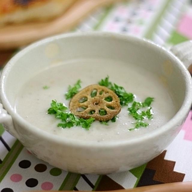 圧力鍋で作る簡単 里芋のポタージュ
