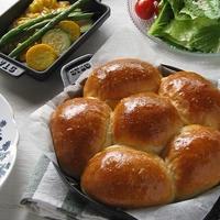 ストウブ ホットプレートで、ふわふわちぎりパン♪