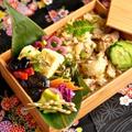 5/6 台湾風鶏の混ぜ飯べんとう。