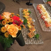 花と料理で楽しむ♪ハッピーハロウィン~キノコの皮なしキッシュ~