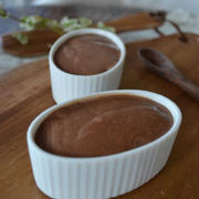 ♪簡単バレンタインレシピ★濃厚チョコプリン★お鍋ひとつで♪