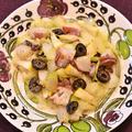 蛸とセロリのレモンマリネ