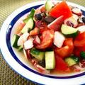 トマトと蛸の夏マリネ