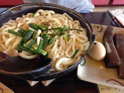 打ち込みうどん。大窪寺の紅葉。カレー蕎麦