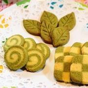 クッキー(抹茶、プレーン)