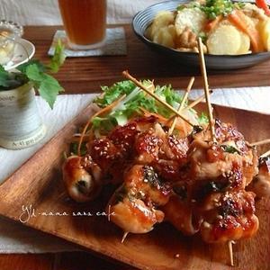フライパンひとつで出来る!ご飯もお酒もすすむ「簡単焼き鳥」