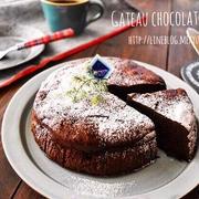 【cotta掲載】濃厚チョコのガトーショコラ・・・温めてからどうぞ
