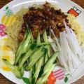 ジャージャー麺。メンマづくりとあんずジャムづくり
