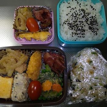 12月3日・4日お弁当☆(*^▽^*)